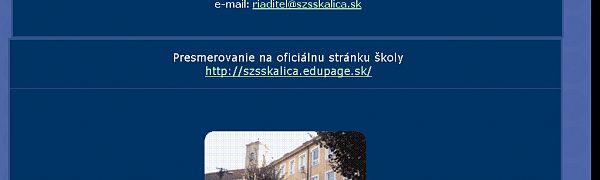 Stredná zdravotnícka škola Skalica